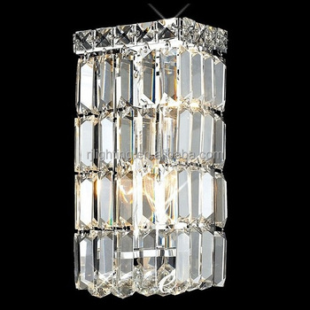 China Clic Indoor Decorative Lights Fixtures Modern Hotel Room Bedroom Antique Fancy Led Decoration Crystal Wall