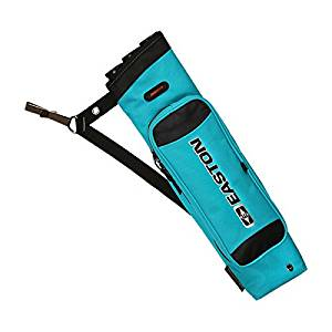 Easton Flipside Quiver RH/LH Teal, 3 Tube