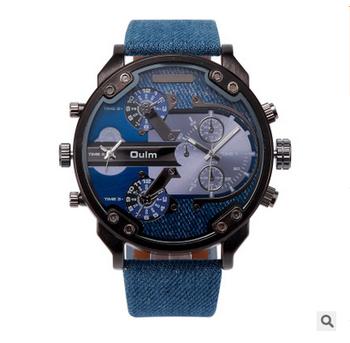 Hombres reloj famoso diseñador mens relojes Top marca de lujo reloj de  cuarzo oulm cara grande fd0232972839