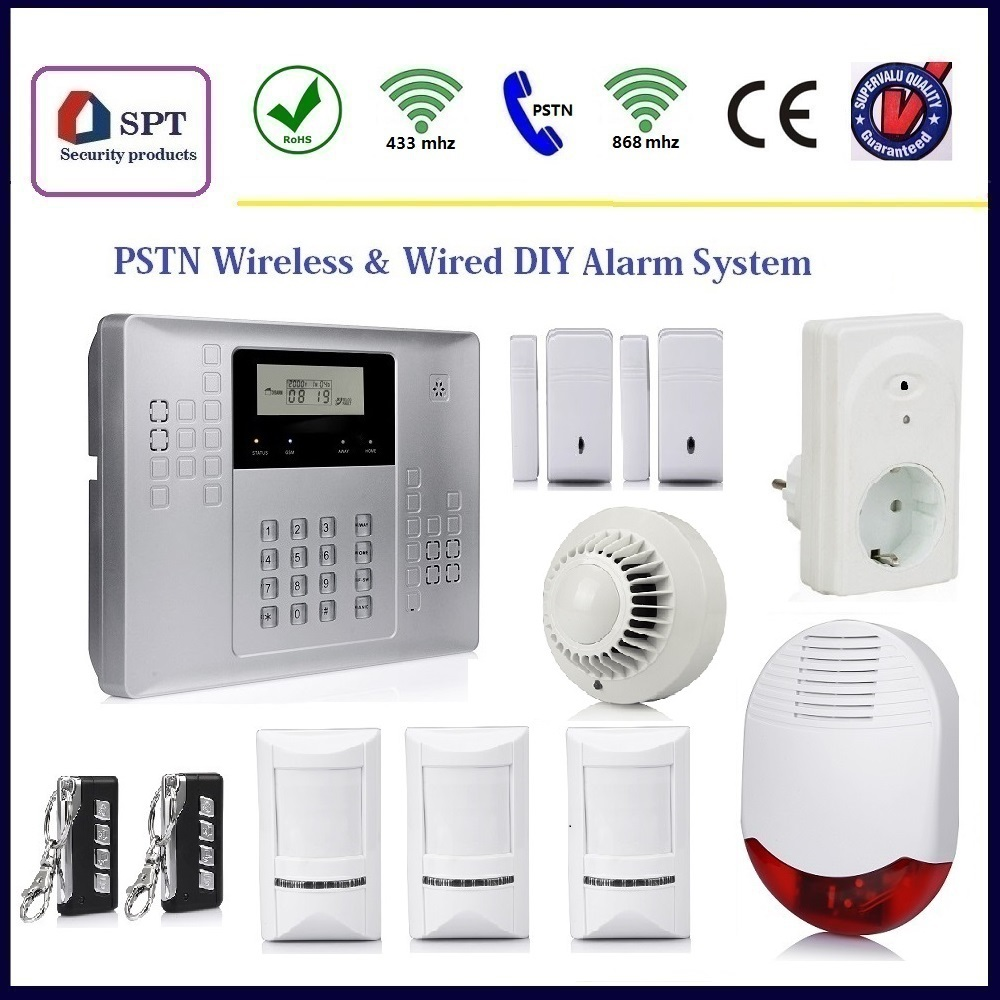 security low current systems, intruder burglar alarm kit, smart guard alarm