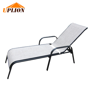outdoor sling multi-position recliner chair