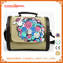 2015 wholesale reusable fashion college shopping cheap plastic bags