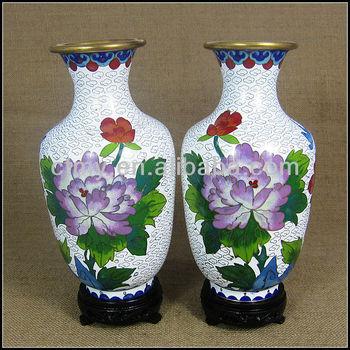 Antique Vintage Chinese Cloisonne Vases Buy Cloisonne Vasebrass