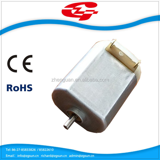 High quality battery operated mini car mirror dc motor F130