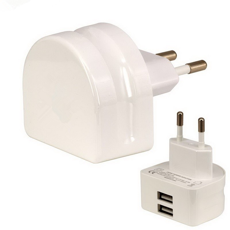 New products 2018 charging station 5V 2.1A DUAL wall plug charger fast charging usb wall charger for samsung galaxy s7 edge