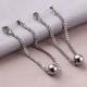 New Designs Chain Surgical Steel Ear Piercing Studs Fashion Earring Studs For Women