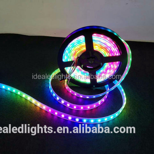 New Addressable digital dream color 5V WS2813 LED strip light if one led is broken, the other leds still work well