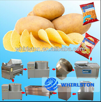 Fresh potato chips production <strong>line</strong> for sale
