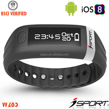 Bluetooth Connection Calorie Counter Activity Tracker Wristband