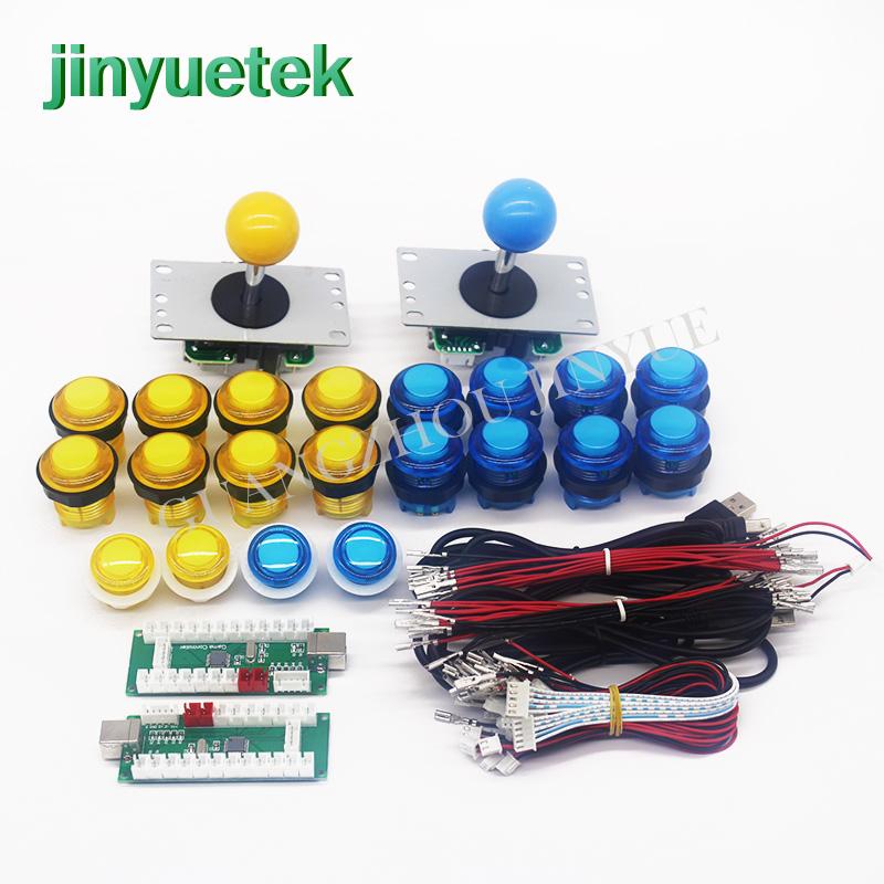 Jinyuetek Wholesale new style ptz controller joystick kit, Red yellow green blue white black