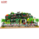 Indoor treehouse playground treehouse slide, plastic castle houses for kids