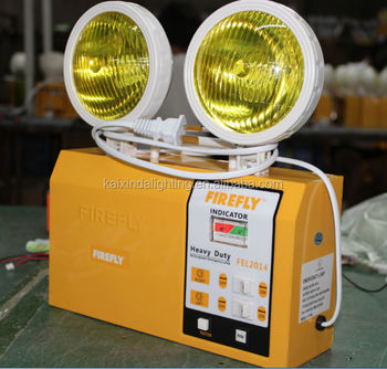 2*2w Rechargeable Led Led Two Spots Emergency Light With Ce And ...