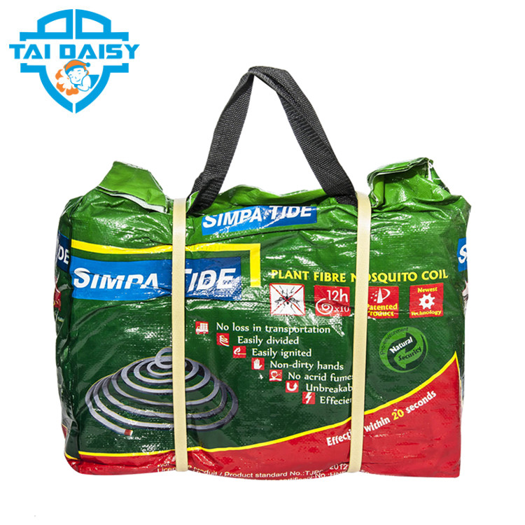 Hot sale good quality Unbreakale plant fiber mosquito coil 140mm herbal mosquito coil