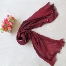 2017 the spring and summer customized color 100% cotton lady scarf