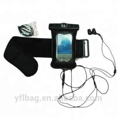 TOP quality waterproof <strong>mp3</strong> for phone case for Iphone bag for Swimming sports
