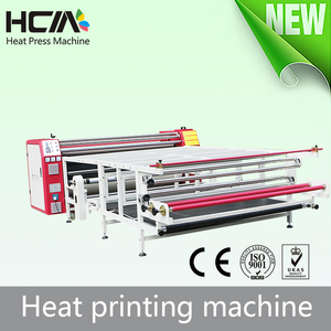 Thermal roller heat transfer paper printing press sublimation machine for sport jersey roll to roll heat press