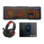 gaming keyboard mouse combo with customized package