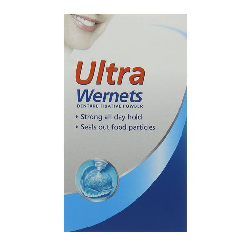 Poligrip Ultra Wernets , Denture Fixative Powder 40g