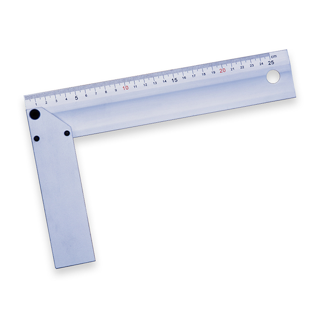 250mm/10inch Aluminum Try Square/Tri Square Ruler