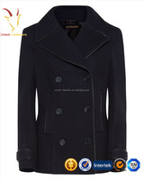 Cashmere Coat Female Cashmere Wool Long Sleeve Coats for Women