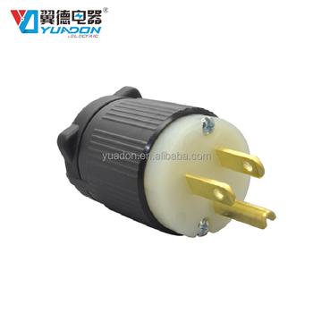 UL listed dupont nylon body nema 5_350x350 ul listed dupont nylon body nema 5 15p 3 pin plug wiring grounding 2