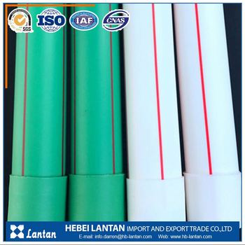 wholesale water supply transparent plastic ppr pipes size price