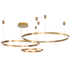 Fancy golden rings pendant lights ceiling lights