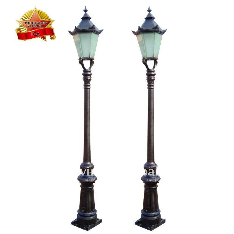 Jardin en fonte rue lumi re lampadaires de rue id de for Lampadaire exterieur rue