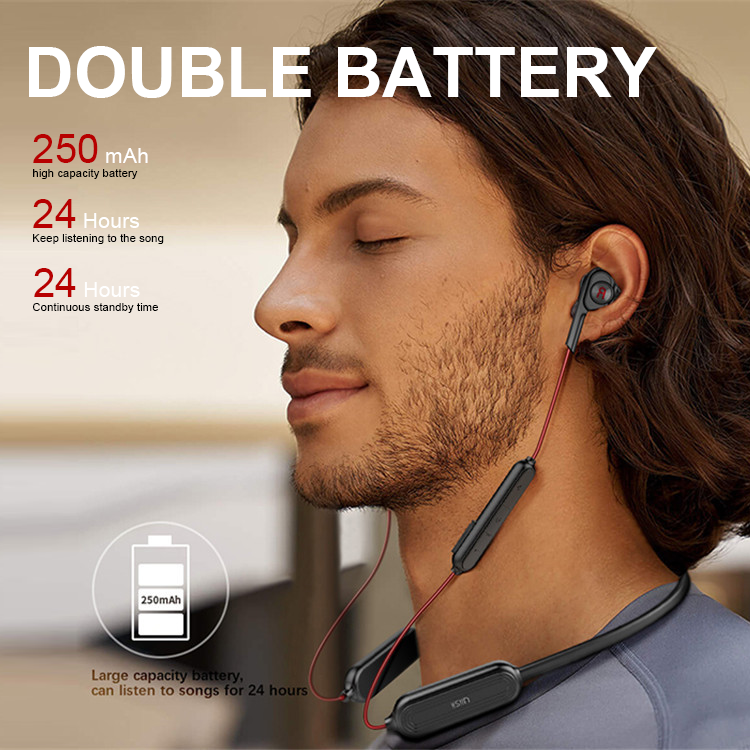 UiiSii Best Seller BN60 Headsets Double Speaker Earbuds Wireless Sports Bluetooth Headphones