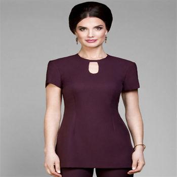Newest 100 cotton beauty spa uniforms buy beauty spa for Spa uniform alibaba
