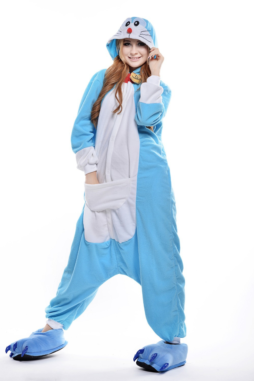 Buy Adult Totoro Onesie/ Animal Footed Pajamas/ Plus Size Anime ...