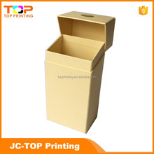 Recyclable top quality cigarette packaging box for sale