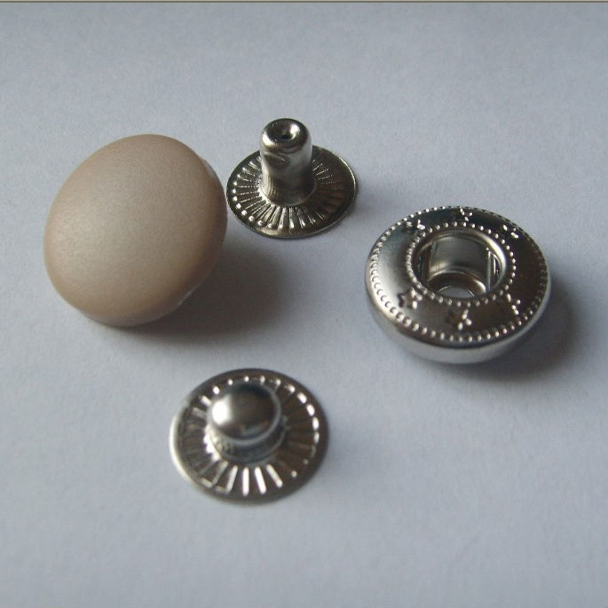 enameled garment button