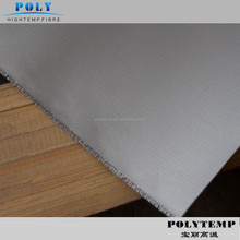 Silver Grey Silicone Rubber Coated Fireproof Fiberglass Cloth for Fabric Expansion