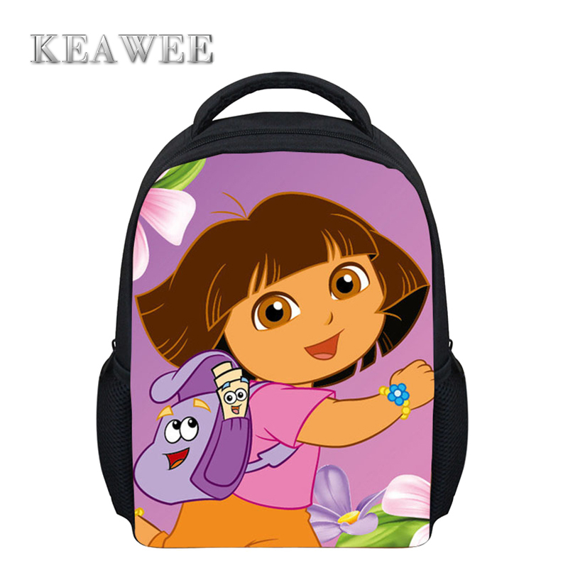 332755ad1b2 Get Quotations · New Fashion Cartoon Printing Dora School Backpacks for  Boys Girls Cute School Bags Dora Explorer Backpack