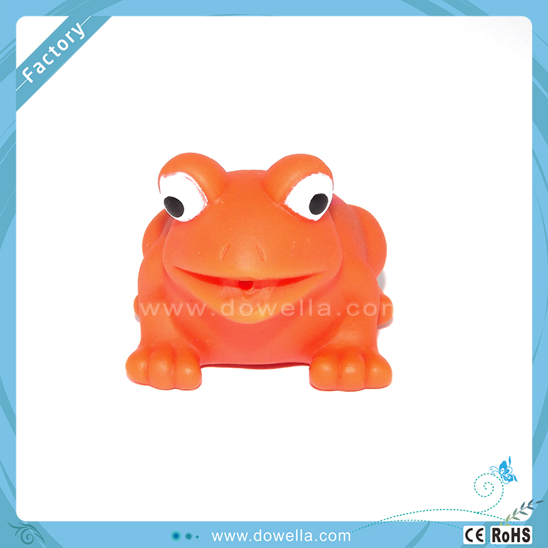 Cheap Injection Frog Figure Vinyl Custom PVC Figurine toy for kids