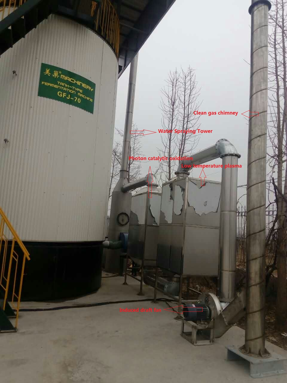 Goldenest 2017 new integration layer chicken manure compost machine aerobic fermented chicken manure organic fertilizer