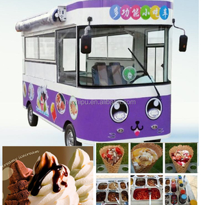 Electric mobile food trucks for sale/four wheels food trucks for sale fruit/electric buffet car