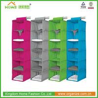 6 shelf folding fabric Closet Organizer