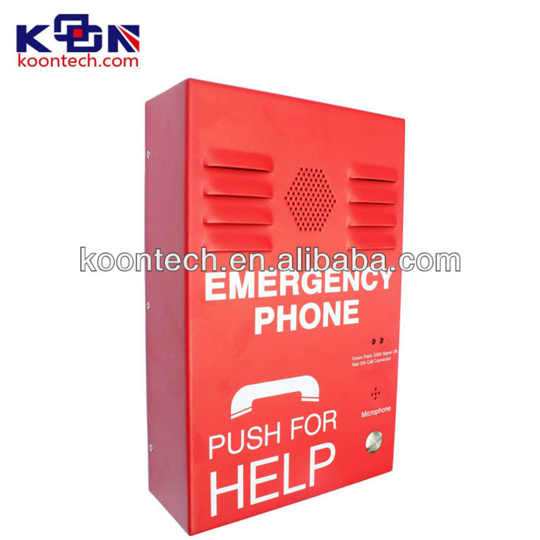 No keypad & Handfree Emergency telephonefor elevator communication KNZD-38 sos service phone