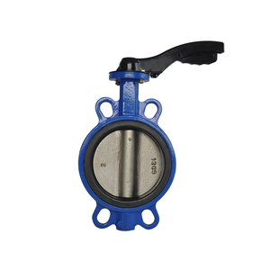 China manufacturer wafer concentric butterfly valve by manual/electric/pneumatic