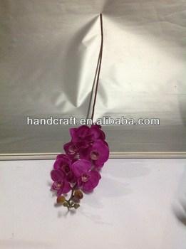 Silk dark purple butterfly orchids flowers stand for wedding buy silk dark purple butterfly orchids flowers stand for wedding mightylinksfo