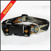jacquard ribbon dog collars