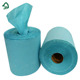 Mix Wood Pulp 2 Ply Blue Color Center Pull Hand Paper Towels Roll