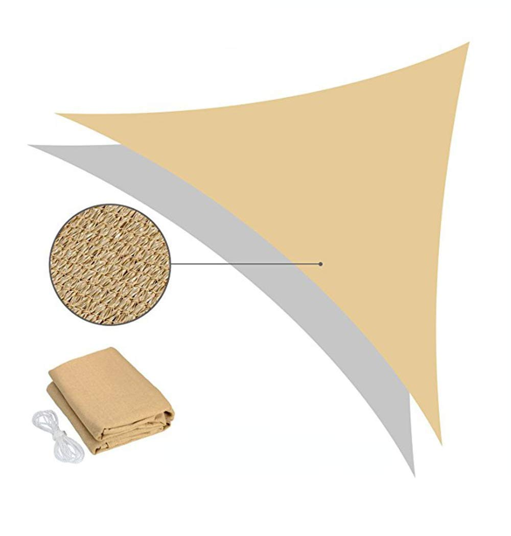 Sun Shade Sail UV Blocking For Outdoor Patio Lawn Garden Canopy Cover,Sunblock Shade Cloth, UV Resistant Shade For Plant Cover, Greenhouse, Barn Or Kennel,House Roof Visor Net - 90% Shading Rate,5M×5M