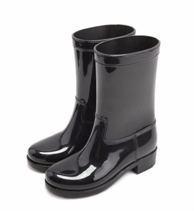 Hotsales Fashion Customized Half Wellies Boots Jelly Color Women PVC Rain Boots