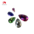 drop shape sew-on crystal beads loose rhinestone for garment accessories