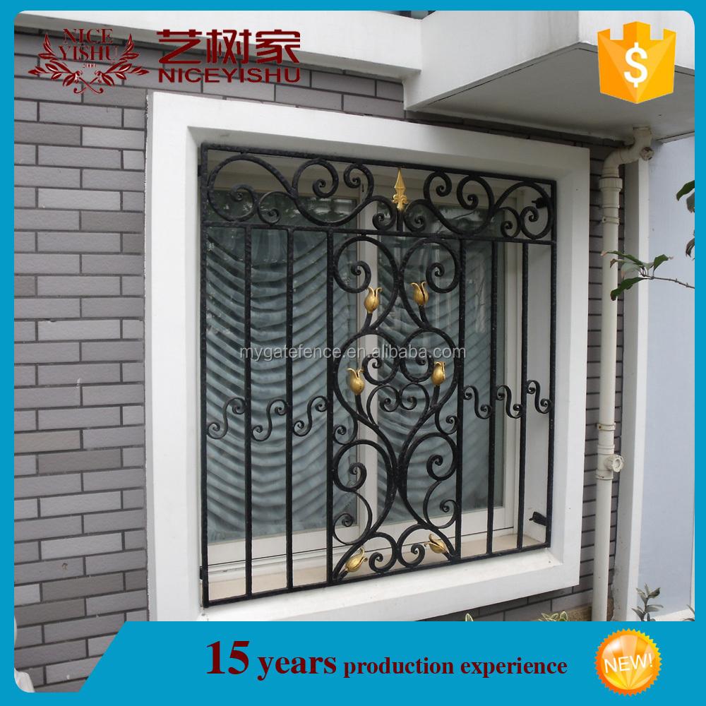 Yishujia fabbrica apribile acciaio inox finestra griglia finestre di sicurezza in ferro battuto - Griglia regolabile protezione finestre ...