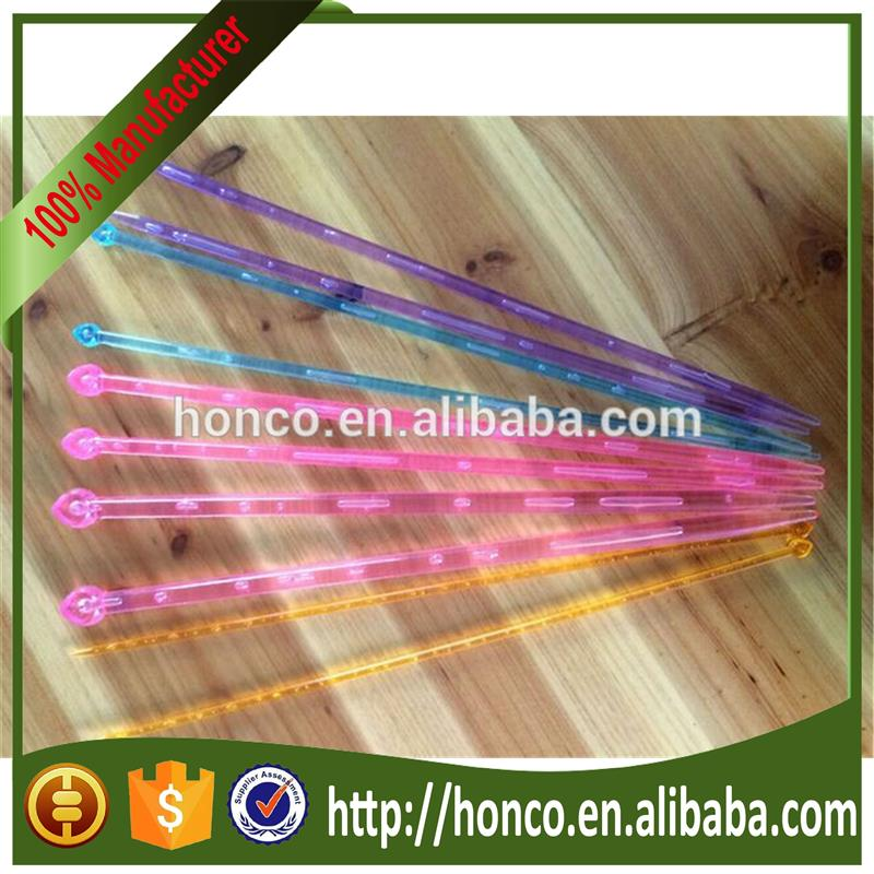 crystal knitting needle for hand knitting
