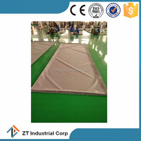 PVC Coated fireproof soundproof mesh fabric for Construction net mesh